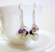 Purple and crackle bunch by Koreena