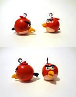 Angry Bird ornaments by Koreena
