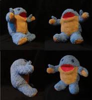 Baby quaggan pack test plushie by Koreena