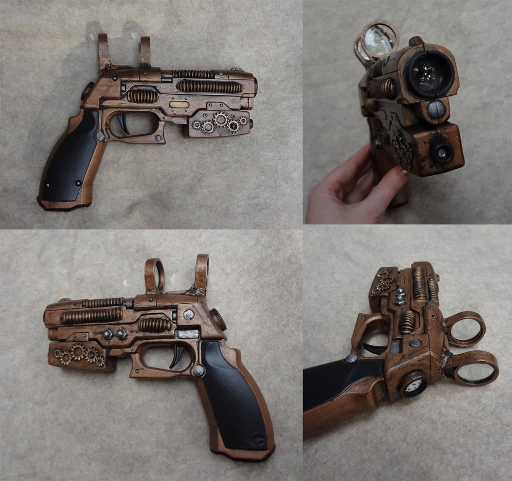 Steampunk gun 2 by Koreena