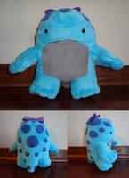 Bright blue quaggan by Koreena