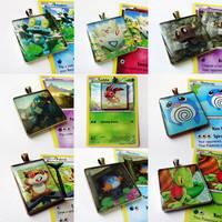 Assorted Pokemon pendants 2 by Koreena