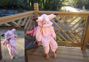 Clefable kigurumi by Koreena