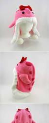 Pink quaggan hat by Koreena