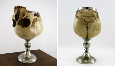 Skull chalice by Koreena