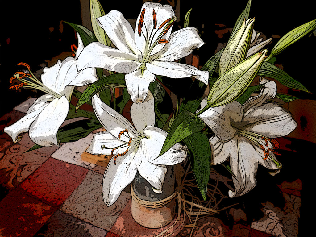 Lillies by Koreena