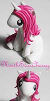 Mini Unicorn in Pink by NorthStarCherry