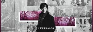 [ Wattpad Banner ] - Sherlock by ineffablely