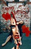 [ Wattpad Cover ] - Happy Birthday by ineffablely