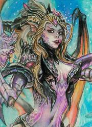 Dragon Sorceress Zyra by mich-spich