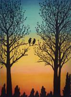 Love birds by mich-spich