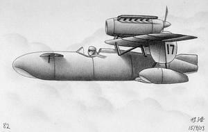 Canard Seaplane by nolowfat