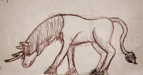 Kirin Sketch by tennyomelime