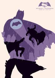 Batman v Superman by Andy Grail by abonny
