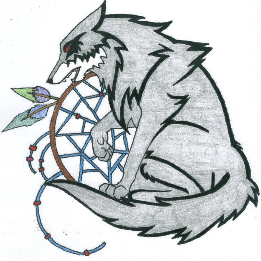 Dreamcatcher Wolf Tattoo 10 By Deathfire666 On Deviantart