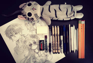 The Pencil Case Tag~ by OtakuPup