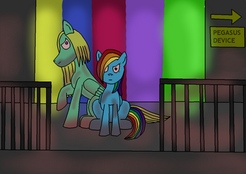 Insane couple: RainbowBreeze Factory by DarkTentacles0666
