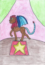 Circus Manticore by DarkTentacles0666