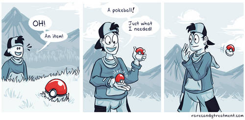 Irony in a pokeshell by BummerForShort