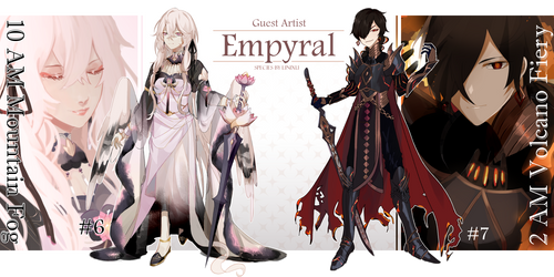 [CLOSED] Guest Artist Empyral Collab Auction by Ikeela