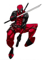 DEADPOOL!!! Colored by andrewchun