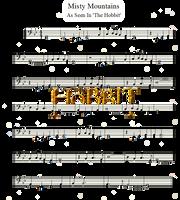 The Hobbit | Misty Mountains | Cello by valdesu