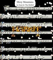 The Hobbit | Misty Mountains | Violin by valdesu