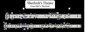 Sherlock's Theme - Violin by valdesu