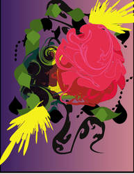 rose shape by deleriumgfx