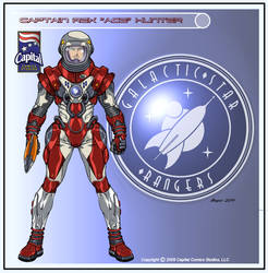 Captain Rex Hunter by CapitalComicsStudios