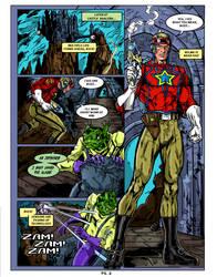 Buck Rogers Fan comic page 2 Colors by CapitalComicsStudios