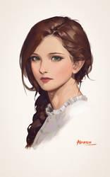 Head Drawing by Hanseul-Kim