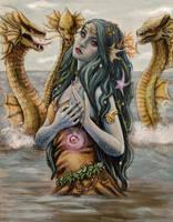 Mother of Hydras by beirut-kitten