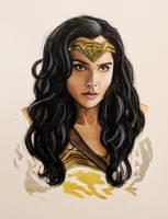 Wonder Woman by beirut-kitten