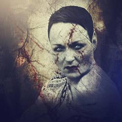 Portrait of the Dark Lady by Avahlon