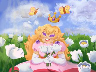 Super Mario RPG Peach by PK-BumbleBee