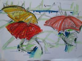 Three Umbrellas by 7markus7
