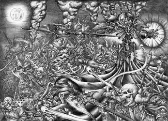 Lich Lord Asphyxious by Pydracor