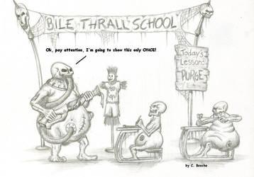 Warmachine: Bile Thrall School by Pydracor