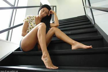 Giantess Jessicas playful feet by Cinematic-GTS