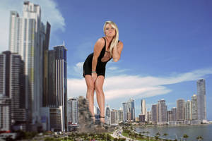 Sexy Giantess Madden in Panama by Cinematic-GTS