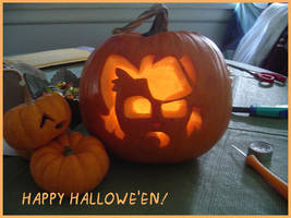 Woo Pumpkin Carving by Miss-Interocitor