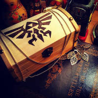 Pyrographic Hylian Chest by Miss-Interocitor