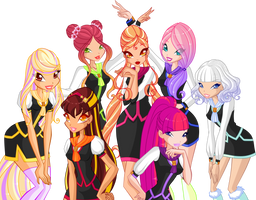 My Winx Girls - Winx Club N.G. by Wynnee