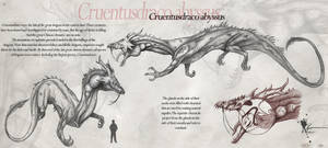 Cruentusdraco abyssus by Kevcatalan