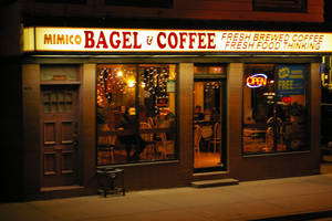 Mimico Bagel and Coffee by amazingPhotoboy