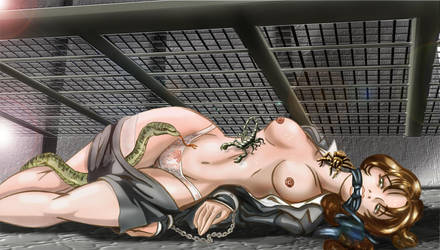 Mei Ling and Snake by MisterEye