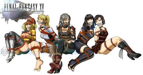 Final XV girls by MisterEye