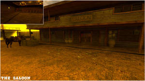 Stay on the Track - The Saloon by swatty007