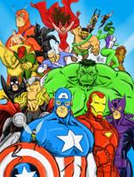 The Avengers by Kolyarut86